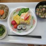 ひな祭りメニュー   ~栄養課便り~